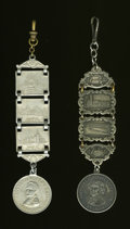 Expositions and Fairs, 1904 St. Louis World's Fair Medals and Fobs.... (Total: 2 items)