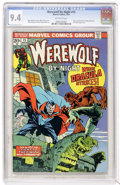 Bronze Age (1970-1979):Horror, Werewolf by Night #15 (Marvel, 1974) CGC NM 9.4 Off-white pages....