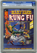 Magazines:Superhero, The Deadly Hands of Kung Fu #10 (Marvel, 1975) CGC VF 8.0 Off-whiteto white pages....