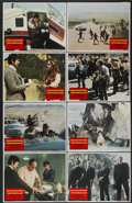 "Movie Posters:Crime, The Stone Killer (Columbia, 1973). Lobby Card Set of 8 (11"" X 14"").Crime.. ... (Total: 8 Items)"