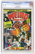 Bronze Age (1970-1979):Horror, Weird Wonder Tales #1 (Marvel, 1973) CGC NM- 9.2 Off-white to whitepages....