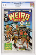 Bronze Age (1970-1979):Science Fiction, Weird Wonder Tales #2 (Marvel, 1974) CGC NM- 9.2 Cream to off-whitepages....