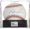 Autographs:Baseballs, . Dwight Eugene Gooden Single Signed Baseball, PSA Mint+ 9.5....
