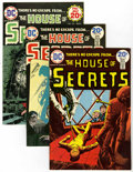 Bronze Age (1970-1979):Horror, House of Secrets Group (DC, 1974-75) Condition: Average VF+....(Total: 6 Comic Books)
