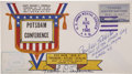Autographs:Military Figures, World War II First Day Cover and Photograph Signed.... (Total: 2 Items)