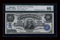 Large Size:Silver Certificates, Fr. 302 $10 1908 Silver Certificate PMG Gem Uncirculated 66 EPQ....
