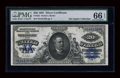 Large Size:Silver Certificates, Fr. 321 $20 1891 Silver Certificate PMG Gem Uncirculated 66 EPQ....