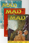 Magazines:Mad, Mad Group (EC, 1957-59).... (Total: 6 Comic Books)