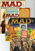 Magazines:Mad, Mad Group (EC, 1960-63).... (Total: 5 Comic Books)