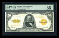 Large Size:Gold Certificates, Fr. 1200 $50 1922 Gold Certificate PMG Choice Very Fine 35....