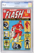 Silver Age (1956-1969):Superhero, The Flash Annual #1 (DC, 1963) CGC NM- 9.2 Off-white to white pages....