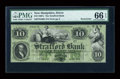Obsoletes By State:New Hampshire, Dover, NH- Strafford Bank $10 G60b. ...
