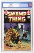 Bronze Age (1970-1979):Horror, Swamp Thing #4 (DC, 1973) CGC FN+ 6.5 Off-white to white pages....
