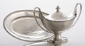 Silver Holloware, British:Holloware, AN ENGLISH SILVER SAUCE TUREEN . Andrew Fogelberg & Stephen Gilbert, London, England, 1780. Marks: (lion passant), (leopard ... (Total: 3 Items)