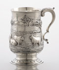 Silver Holloware, British:Holloware, AN ENGLISH SILVER CAN. George Smith & Thomas Hayter, London,England, 1796. Marks: (lion passant), (leopard head crowned), (...