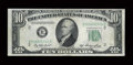 Error Notes:Double Denominations, Fr. 2011-B $10/$1 1950A Federal Reserve Note. Choice About Uncirculated.. ...