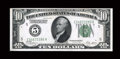 Error Notes:Double Denominations, Fr. 2001-E $10/$5 1928A Federal Reserve Note. Choice About Uncirculated.. ...
