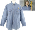 "Music Memorabilia:Costumes, The Who - John Entwistle's ""Billy Bob's Texas"" Dress Shirt...."