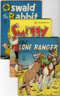 Golden Age (1938-1955):Miscellaneous, Four Color Group (Dell, 1946-47) Condition: Average VG+.... (Total: 14 Comic Books)