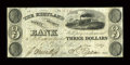 Obsoletes By State:Ohio, Kirtland, OH- Kirtland Safety Society Bank $3 mar. 3, 1837 G6 Wolka1424-08 Rust 6. ...
