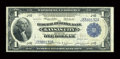 Error Notes:Large Size Errors, Fr. 737 $1 1918 Federal Reserve Bank Note Very Fine....