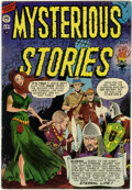 Golden Age (1938-1955):Horror, Mysterious Stories #2 (Premier , 1955) CGC FN/VF 7.0 Whitepages....