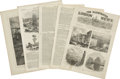 Autographs:Non-American, The Illustrated London News Magazine Collection,... (Total:8 Items)