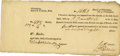 Autographs:Celebrities, Import Certificate for Rum. ...