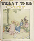 Books:Children's Books, Anne Anderson & Alan Wright [illustrators]. Natalie-Joan.Tales For Teeny Wee. In Two Parts. [i.e.. Together with]:...