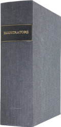 Books:First Editions, Large Solander Case Labeled Illustrators For the Storage ofPrints....