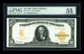Large Size:Gold Certificates, Fr. 1172 $10 1907 Gold Certificate PMG About Uncirculated 55....