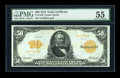 Large Size:Gold Certificates, Fr. 1199 $50 1913 Gold Certificate PMG About Uncirculated 55....