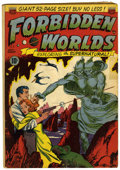 Golden Age (1938-1955):Science Fiction, Forbidden Worlds #1 (ACG, 1951) Condition: GD/VG....