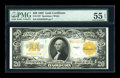 Large Size:Gold Certificates, Fr. 1187 $20 1922 Gold Certificate PMG About Uncirculated 55 EPQ....