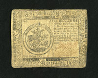 Continental Currency July 22, 1776 $5 Fine. We have always found this issue to be the second scarcest of all the Contine...