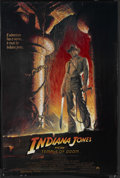 """Movie Posters:Adventure, Indiana Jones and the Temple of Doom (Paramount, 1984). One Sheet(27"""" X 41""""). Action Adventure. Starring Harrison Ford, Kat..."""