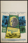 """Movie Posters:Horror, Village of the Damned (MGM, 1960). Window Card (14"""" X 22""""). Horror. Starring George Sanders, Barbara Shelley, Martin Stephen..."""