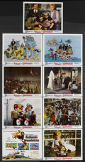 "Movie Posters:Animated, Bedknobs and Broomsticks (Buena Vista, 1971). Lobby Card Set of 9(11"" X 14""). Fantasy Adventure. Starring Angela Lansbury, ...(Total: 9 Items)"