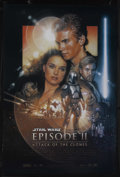 "Movie Posters:Science Fiction, Star Wars: Episode II - Attack of the Clones (20th Century Fox, 2002). One Sheet (27"" X 41""). Sci-Fi Action. Starring Ewan M..."