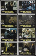 """Movie Posters:Crime, The Taking of Pelham One Two Three (United Artists, 1974). LobbyCard Set of 8 (11"""" X 14""""). Crime. Starring Walter Matthau, ...(Total: 8 Items)"""