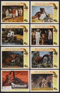 "Dinosaurus! (Universal, 1960). Lobby Card Set of 8 (11"" X 14""). Science Fiction. Starring Ward Ramsey, Kristin..."