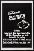 "Movie Posters:Academy Award Winner, The Godfather Part II (Paramount, 1974). One Sheet (27"" X 41"").Academy Award Winner/Crime. Starring Al Pacino, Robert De Ni..."