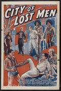 """Movie Posters:Science Fiction, City of Lost Men (Goodwill Production, 1940). One Sheet (27"""" X41""""). Science Fiction. Starring William """"Stage"""" Boyd, George ..."""