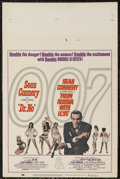 """Movie Posters:James Bond, Dr. No/From Russia with Love Combo (United Artists, 1965). WindowCard (14"""" X 22""""). James Bond. Starring Sean Connery, Ursul..."""
