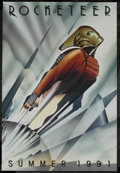 "Movie Posters:Action, The Rocketeer (Touchstone, 1991). One Sheet (27"" X 40"") DoubleSided Advance. Action Adventure. Starring Bill Campbell, Jenn..."
