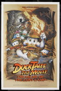 "Movie Posters:Animated, Duck Tales: The Movie - Treasure of the Lost Lamp (Buena Vista,1990). One Sheet (27"" X 41"") Double Sided. Animated Adventur..."