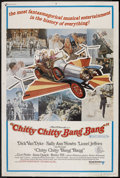 "Movie Posters:Comedy, Chitty Chitty Bang Bang (United Artists, 1968). Poster (40"" X 60"") Style B. Musical Comedy. Starring Dick Van Dyke, Sally An..."