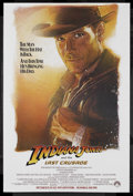 "Movie Posters:Action, Indiana Jones and the Last Crusade (Paramount, 1989). One Sheet(27"" X 40.5"") Advance. Action Adventure. Starring Harrison F..."