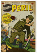 "Golden Age (1938-1955):War, Operation Peril #2 Davis Crippen (""D"" Copy) pedigree (ACG, 1951)Condition: VF/NM...."