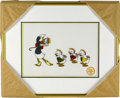 "animation art:Limited Edition Cel, ""Mr. Duck Steps Out"" Limited Edition Serigraph Cel (Disney)....(Total: 0)"